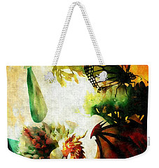 Where Dreams Begin Weekender Tote Bag by Maria Urso