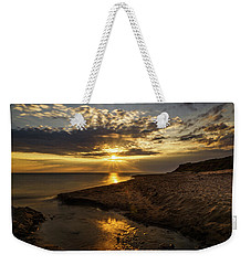 Weekender Tote Bag featuring the photograph Where Freshwater Joins Saltwater by Chris Bordeleau