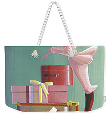 Where Is He? Weekender Tote Bag