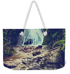 Weekender Tote Bag featuring the photograph Where It All Begins by Laurie Search