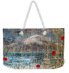Where Poppies Blow Detail Weekender Tote Bag