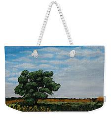 Where The Fields Meet Weekender Tote Bag