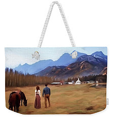 Where The Heart Is - Landscape Art Weekender Tote Bag by Jordan Blackstone