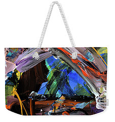 Where The Smiles Roam Abstract  Weekender Tote Bag