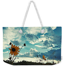 Where The Sunflowers Grow Weekender Tote Bag