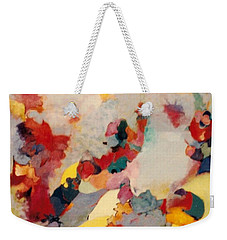 Where There Is Smoke Weekender Tote Bag