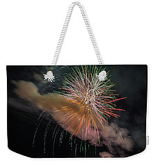Weekender Tote Bag featuring the photograph Where There's Smoke by Bill Pevlor