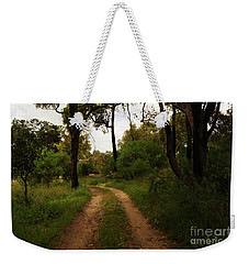Weekender Tote Bag featuring the photograph Where To? by Cassandra Buckley
