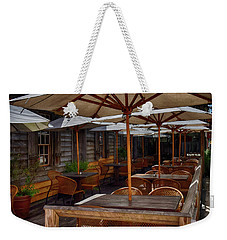 Where To Sit.... Weekender Tote Bag