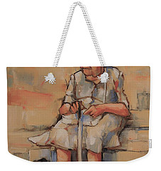 Where Was I Going Weekender Tote Bag