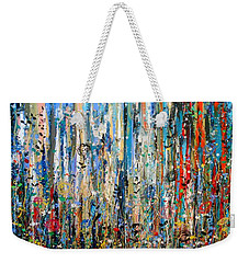 Where Wild Roses Bloom - Large Work Weekender Tote Bag