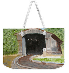 Where's The Train ? Weekender Tote Bag