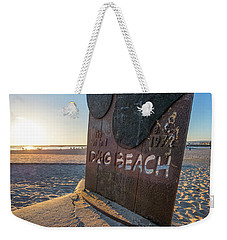 Where's Your Pooch Weekender Tote Bag by Joseph S Giacalone