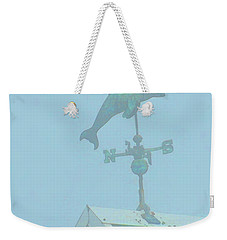 Weekender Tote Bag featuring the photograph Which Way Is South by Laura Ragland