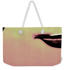 Weekender Tote Bag featuring the photograph While My Guitar Plays by The Art Of Marilyn Ridoutt-Greene