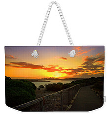 While You Walk Weekender Tote Bag by Miroslava Jurcik