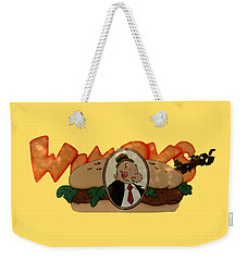 Weekender Tote Bag featuring the photograph Whimpy by Tom Prendergast