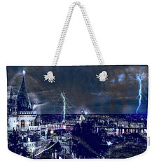 Whimsical Budapest Weekender Tote Bag
