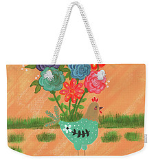 Henrietta The High Heeled Hen Weekender Tote Bag