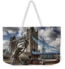 Whimsy At Tower Bridge Weekender Tote Bag