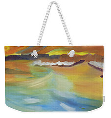 Whipped Waters Of Iceland Weekender Tote Bag