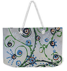 Weekender Tote Bag featuring the painting Whippersnapper's Whim by Holly Carmichael