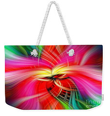 Whirlwind Of Colors Weekender Tote Bag by Sue Melvin