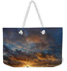 Whirly Sunset Weekender Tote Bag