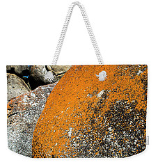 Weekender Tote Bag featuring the photograph Whisky Rocks by Angela DeFrias