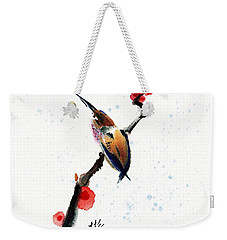 Whisper Weekender Tote Bag by Bill Searle