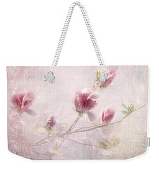 Weekender Tote Bag featuring the photograph Whisper Of Spring by Annie Snel