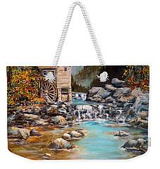 Whisper Run Mill Weekender Tote Bag