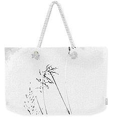 Whisper Weekender Tote Bag by Vicki Pelham