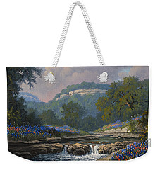 Whispering Creek Weekender Tote Bag