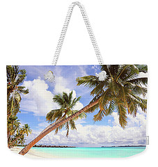 Whispering Palms. Maldives Weekender Tote Bag