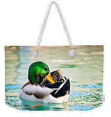 Weekender Tote Bag featuring the photograph Whispering Secrets by Steven Santamour