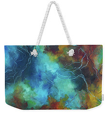 Whispering Winds Weekender Tote Bag by Karen Kennedy Chatham