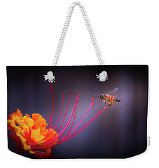 Whispering Wings 1 Weekender Tote Bag by Mark Dunton