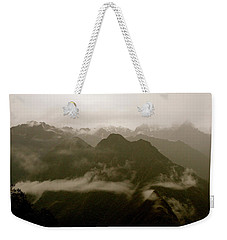 Whispers In The Andes Mountains Weekender Tote Bag