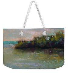 Whispers Of Green Weekender Tote Bag