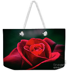 Weekender Tote Bag featuring the photograph Whispers Of Passion by Linda Lees