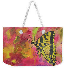 Whispers Of Wings And Petals Weekender Tote Bag
