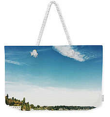 Whispy Northwest Days Weekender Tote Bag
