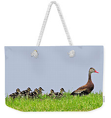 Whistle While You Walk Weekender Tote Bag
