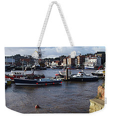 Whitby Harbour - North Yorkshire Weekender Tote Bag