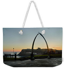 Whitby Whalebone Golden Hour Weekender Tote Bag