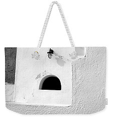 Weekender Tote Bag featuring the photograph White Abstract by Ana Maria Edulescu