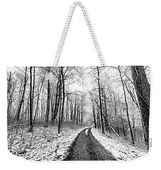 White And Black And White Weekender Tote Bag