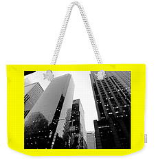 White And Black Inspiration  Weekender Tote Bag by Inga Kirilova