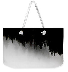 White And Black Trees Weekender Tote Bag